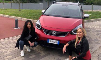 Honda Jazz Crosstar, con Elena Giaveri e Anthea Totino
