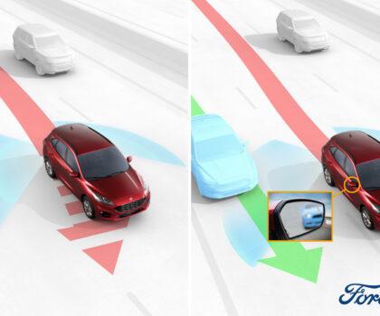 """Ford Kuga: con tecnologie che """"guardano"""" dove non vedi"""