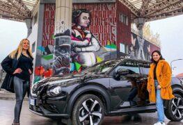 Nissan Juke, con Elena Giaveri e Lavinia Biancalani