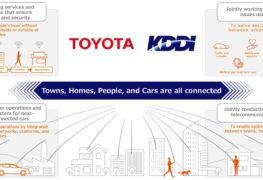 Toyota: si rafforza alleanza con KDDI