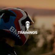"""Bmw Motorrad: guidare sicuri con il podcast """"Trainings"""""""