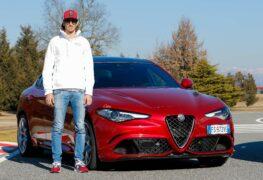 """Giovinazzi (pilota di F1): """"Corro per mestiere, in strada vado tranquillo"""""""