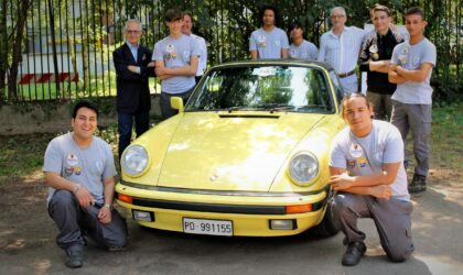 Club Milanese Automotoveicoli d'Epoca: corso per giovani
