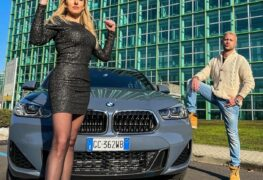 BMW X2, con Elena Giaveri e Alessandro Marras