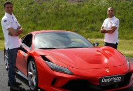 Ferrari Guinness World Record 2021: Fabio Barone sfida Google Maps