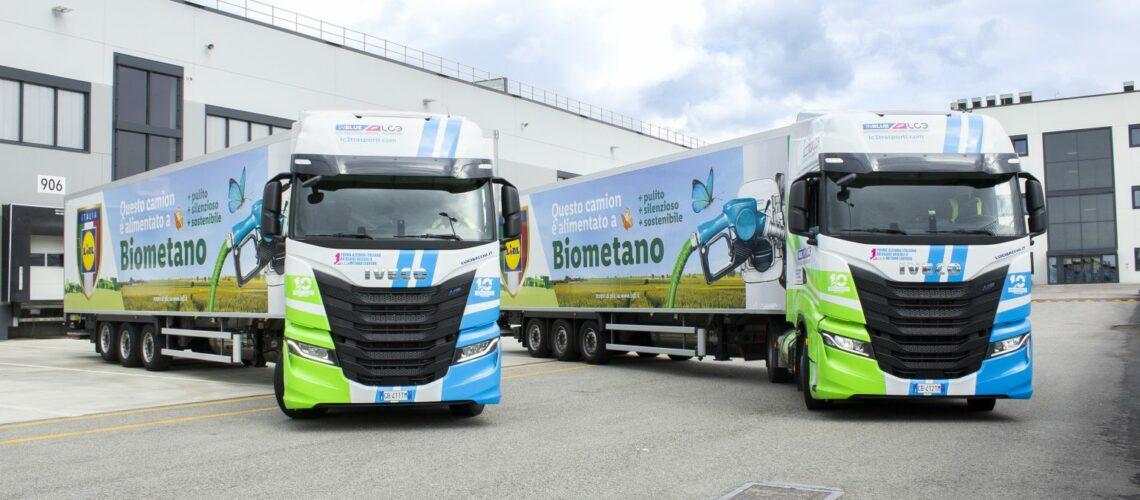 Lidl: altri 35 mezzi Iveco S-Way a biometano