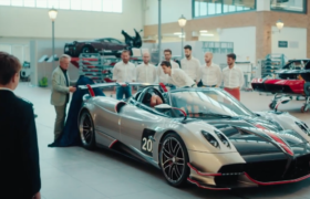 Opere d'arte: PaganiHuayra Roadster BC