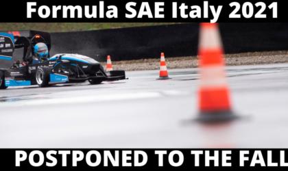 Formula SAE Italy: l'edizione 2021 posticipata in autunno