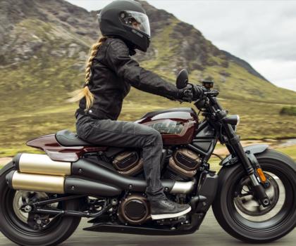 Harley-Davidson Sportster S: lupo travestito da lupo