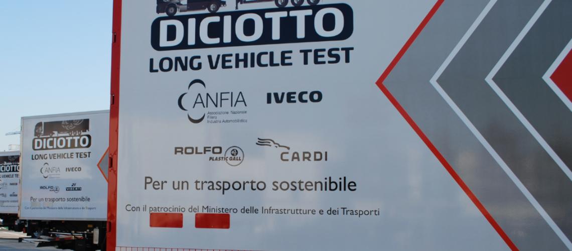Autoarticolati da 18 metri: ok alla circolazione