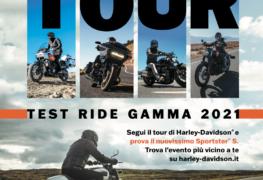 Harley-Davidson Experience Tour: l'occasione giusta per provare i modelli 2021