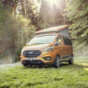 Ford Transit Custom: invacanza con la versione Nugget Active