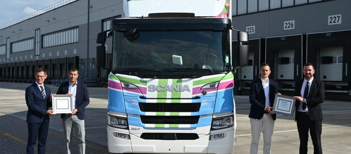 Lidl: primo veicolo industriale elettrico a batterie con LC3 Trasporti e Scania