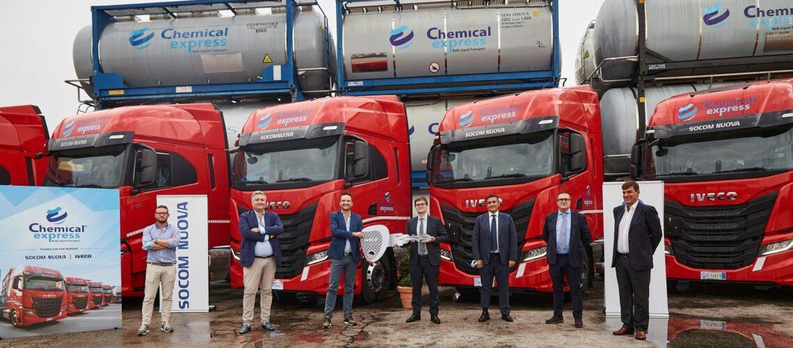 Iveco S-WAY: a Chemical Express ben 15 per il trasporto di prodotti chimici