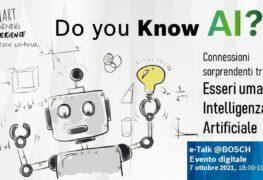 """Bosch Tec: """"Do you know AI?"""" è il quinto e ultimo appuntamento di e-Talk@Bosch"""