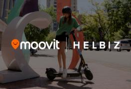 Helbiz e Moovit: nuovi servizi dalla partnership