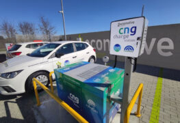 Ecomotive Solutions – Cubogas: gas naturale e biometano in colonnina